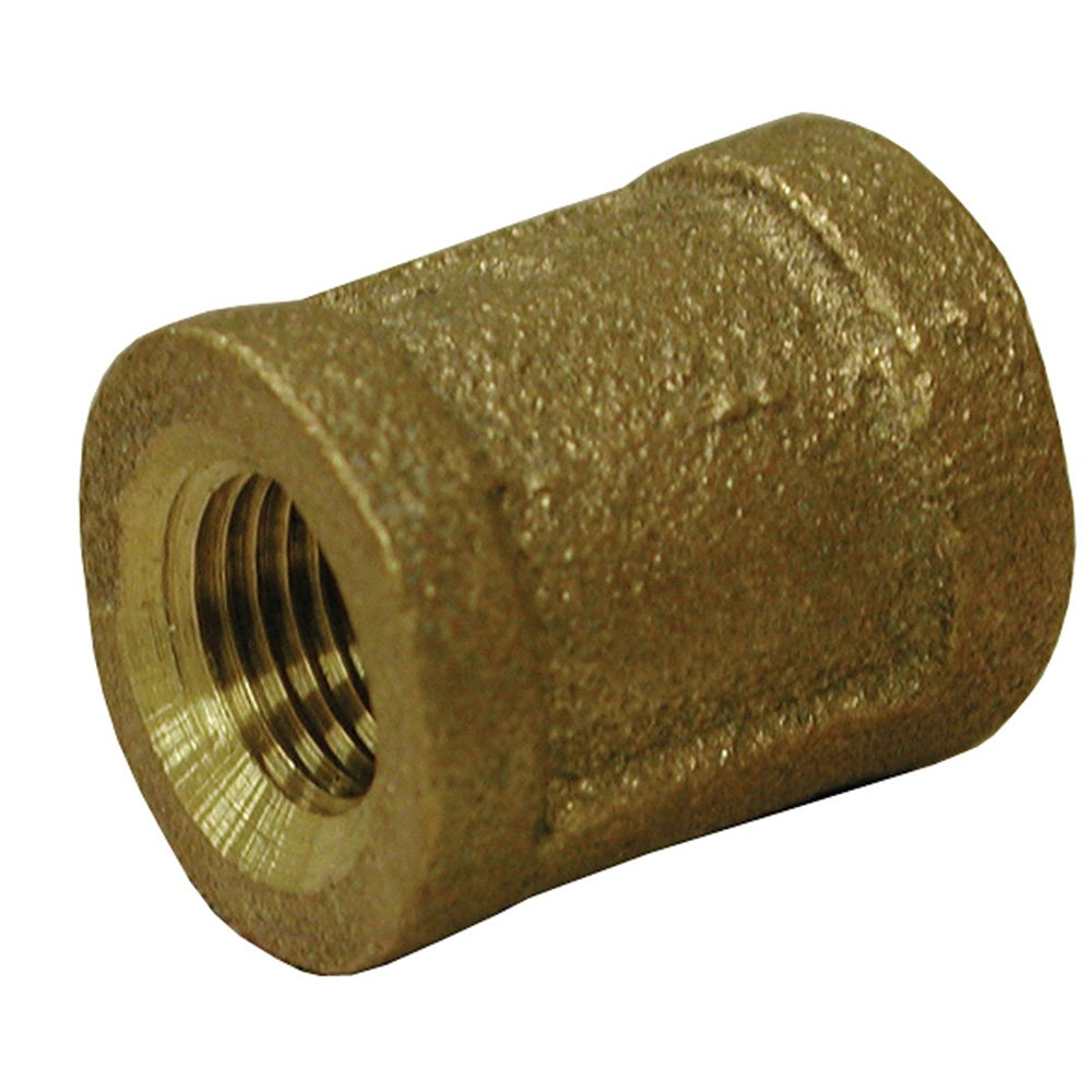 Jones Stephens Corp - 1-1/2 Bronze Coupling (Lead Free)