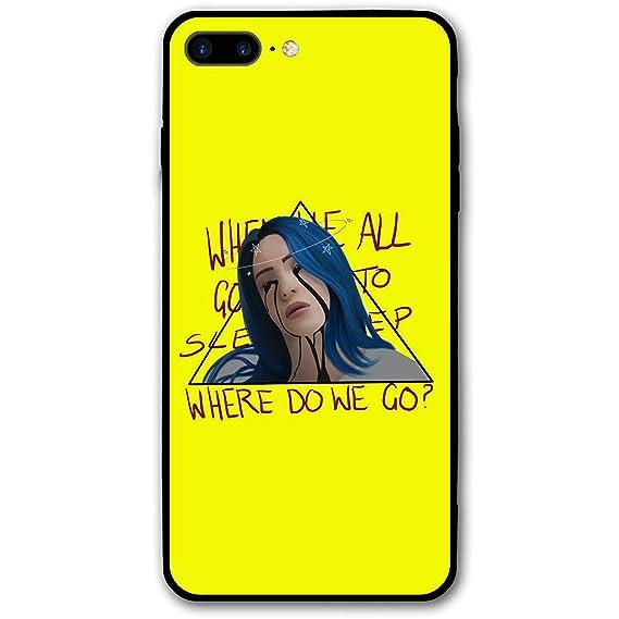 sneakers for cheap 3246d e0080 Amazon.com: Billie Eilish Phone Case for iPhone 7/8 Plus Slim Bumper ...