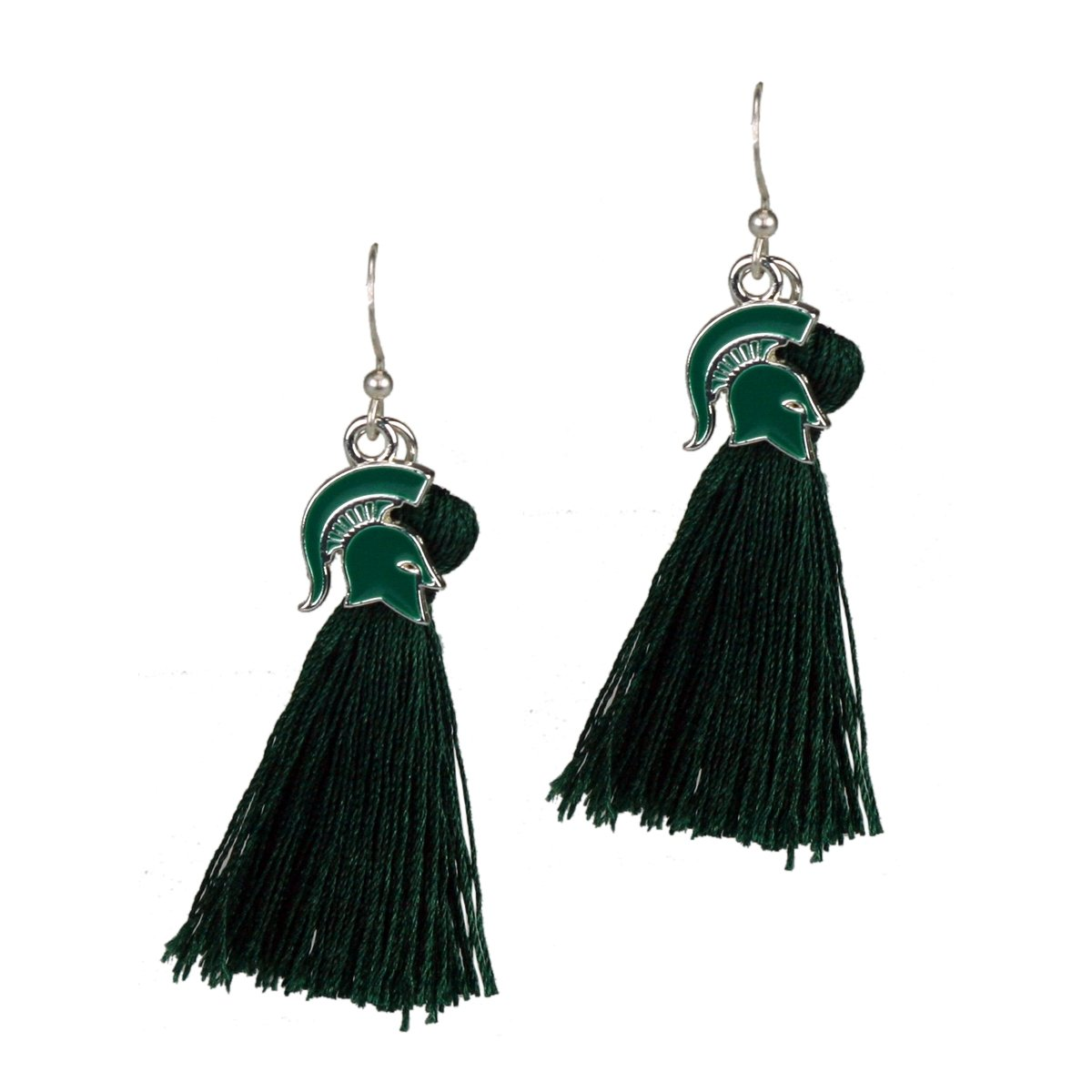 SANDOL Michigan State Spartans Tassel Earrings