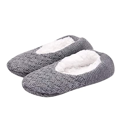 LILICAT❋ Calcetines Antideslizantes de Silicona para Adultos de Invierno para Mujer Zapatillas para Hombre Zapatillas