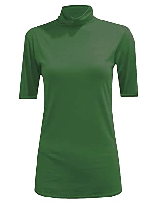 WearAll Damen Top Gr. S/M, Bgreen Short Sleeve