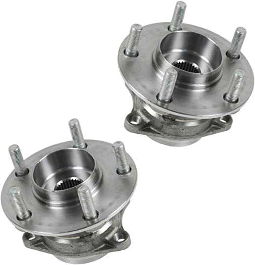 TRQ Rear Wheel Bearing Hub Assembly Pair Left /& Right For Mazda CX-7 AWD