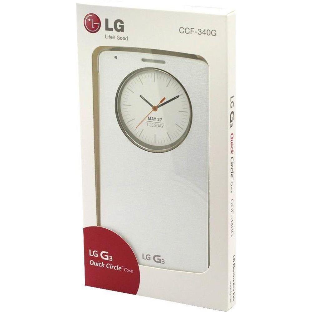 LG G030G30W1 - Funda G3 Quick Circle, blanco