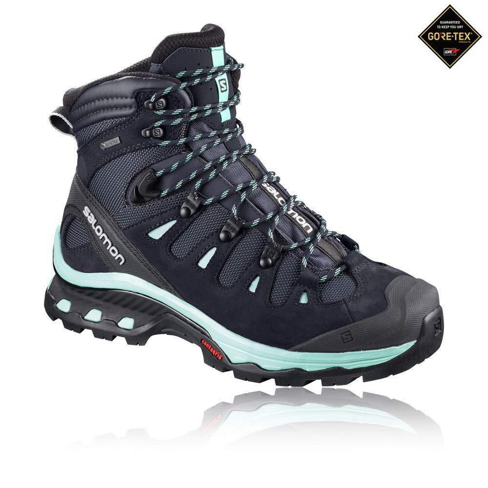 Salomon Damen Quest 4d 3 GTX W Trekking- & Wanderstiefel Wanderstiefel Wanderstiefel Schwarz 43.3 EU 03054a