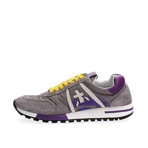 PREMIATA Kim Zapatillas DE Deporte Mujer Grey 36: Amazon.es: Zapatos y complementos