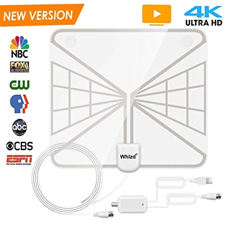 Review 【NEWEST 2018】Whlzd TV Antenna