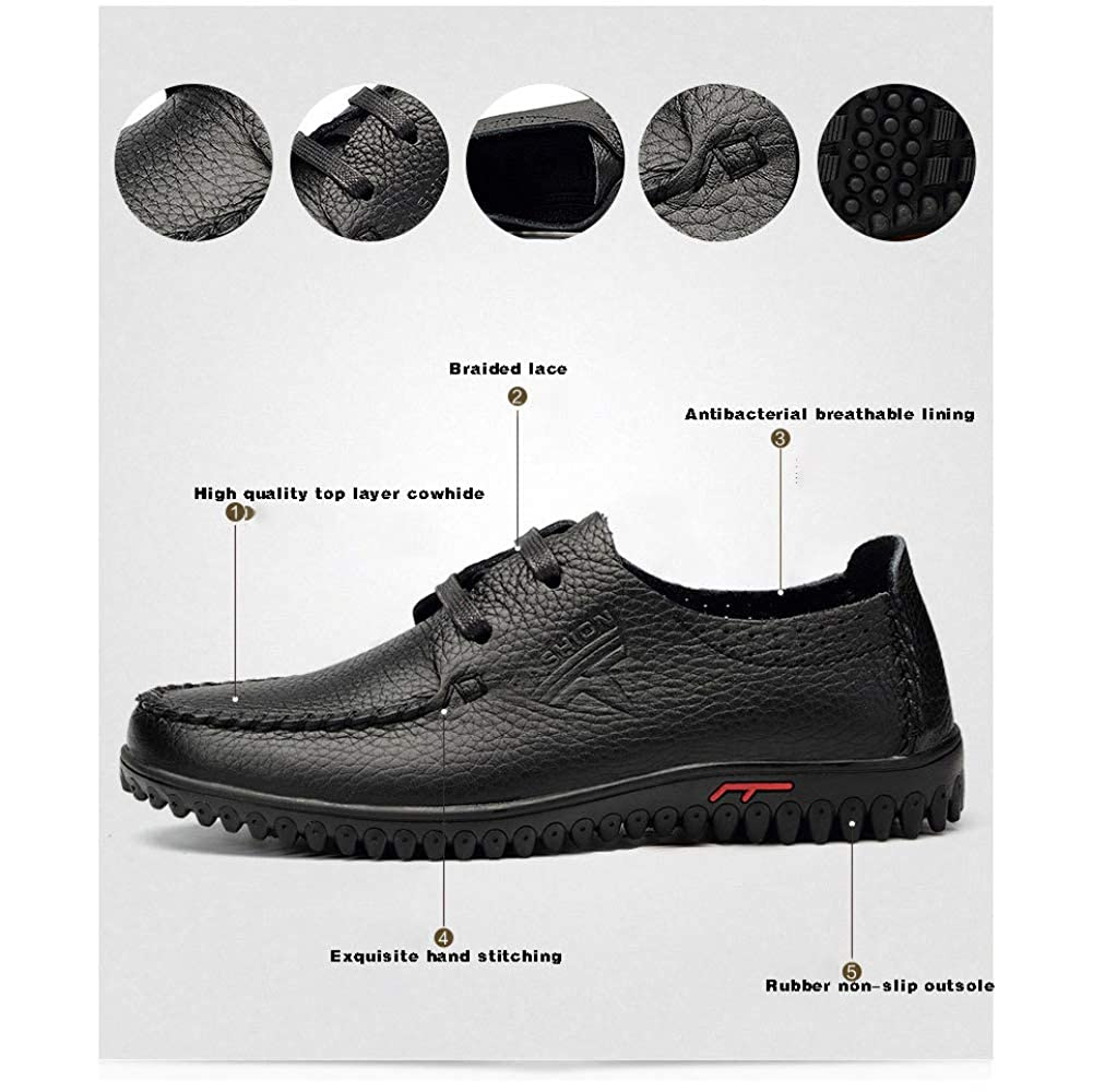 Herrenschuhe Der Großen Schuhe Schuhe des Leders Beiläufige, Schuhe Großen Der Männer Breathable Veloursledermänner Einzelne Schuhe Lederne Schuhmänner Weiß fe7d10