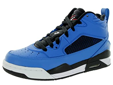 the latest 6c5f2 95291 Jordan Nike Kids Flight 9.5 Bg Sport Blue White Black Infrared 23 Basketball