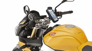 Soporte movil moto cargador sujeción de extrema dureza sistema anti-caídas soporte movil en moto