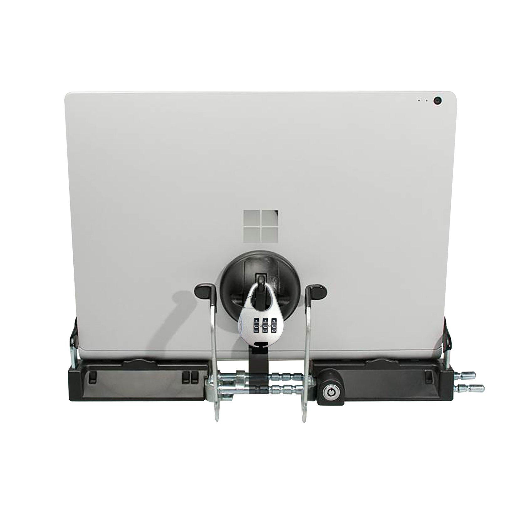 CTA Digital Heavy Duty Tri-Security Station for Tablet-Laptop Hybrids - PAD-SSLT by CTA Digital (Image #3)