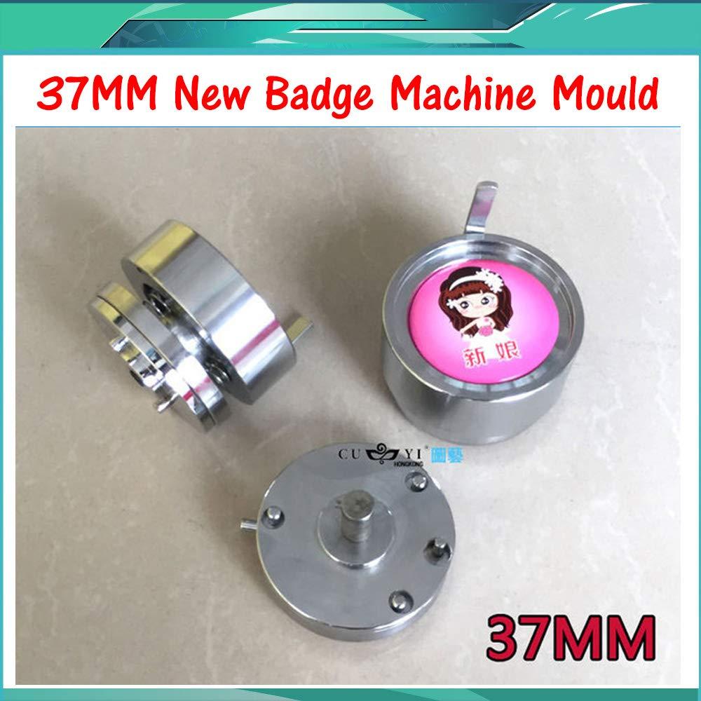 Maslin Button Maker Mould 1-1/2'' (37MM) Plastic Slide Mould Badge Machine Mold of 37mm Mould