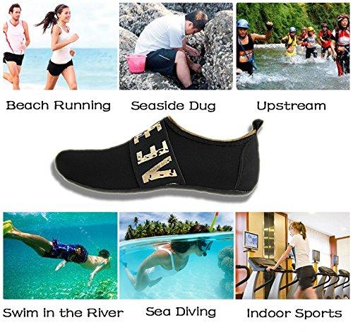 IceUnicorn Schwimmschuhe Damen Herren Strandschuhe