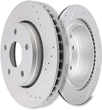 Front Brake Disc Rotors For 2007 2008 2009 2010 2011-2016 Jeep Wrangler JK