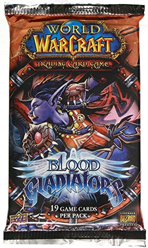 World Packs Of Booster Warcraft - World of Warcraft Blood of Gladiator