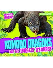 Komodo Dragons Are the Largest Lizards!