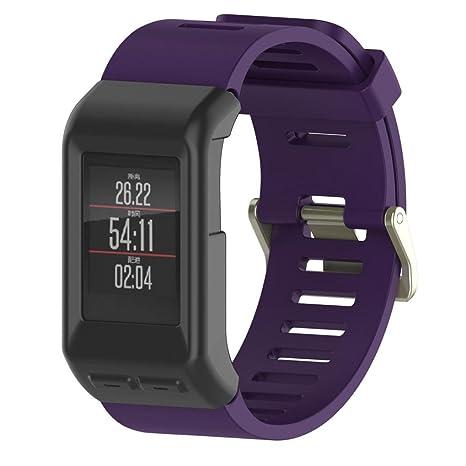 Sinfu® para Garmin Vivoactive HR Smartwatch GPS Silicon Slim ...