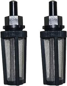 2 filtros de Manguera Venturi para purificador de Agua agrícola, Filtro Industrial DE 3/8 mm, Accesorio para Manguera de jardín, Herramientas de Fuente: Amazon.es: Hogar