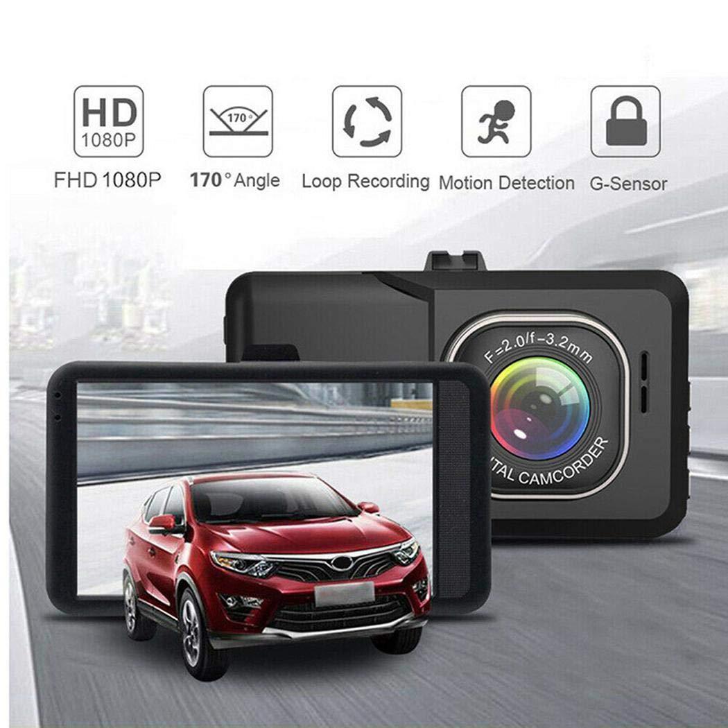 Pikins 3 pulgadas de pantalla H05 HD conducci/ón grabadora HD supervisi/ón de autom/óviles Cajas negras