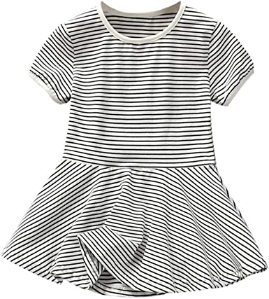 Mud Kingdom Little Girls Short Outfits Stripe Cute Star Summer Holiday