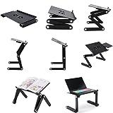 Superjare Laptop Stand Desk Table, Adjustable