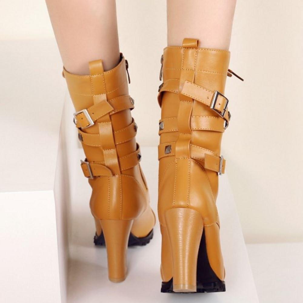 Lydee Femmes Martin Boots Talons