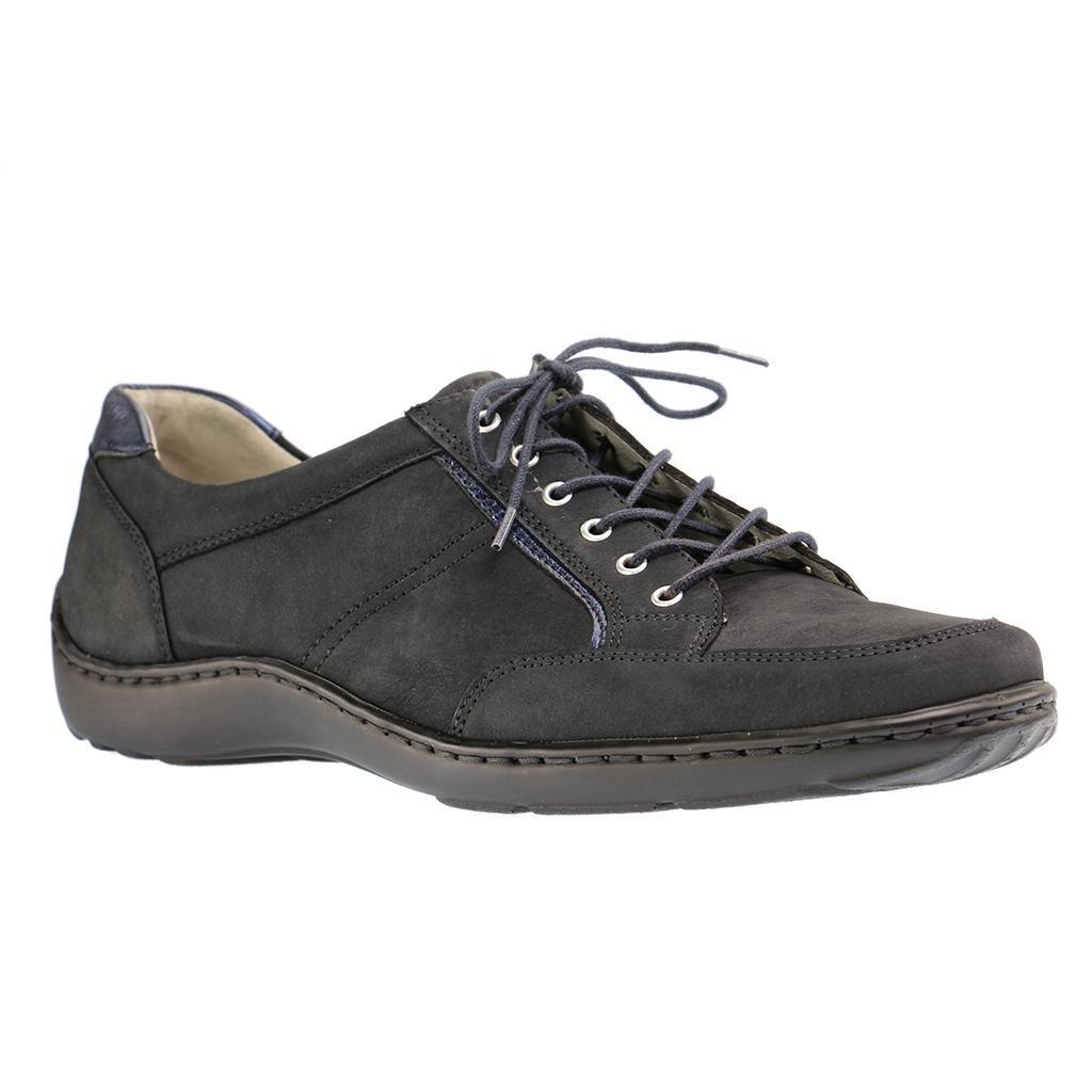 Waldläufer 496013201/194 - Zapatos de cordones para mujer 36.5 EU|Azul
