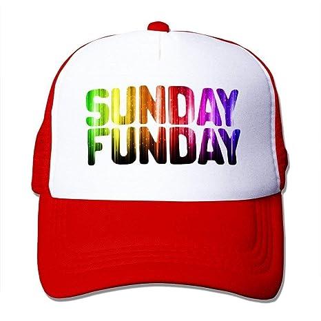 deyhfef Gorra de Dos Tonos Personalizada Jade Sunday Funday con ...