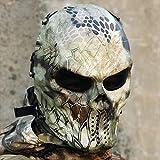 2157newhighlander Wargame Máscara de paintball Full Face táctico al aire última intervensión Máscaras de calavera Drop Shipping