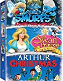 Arthur Christmas / Smurfs Christmas Carol, the / Swan Princess Christmas, the - Set