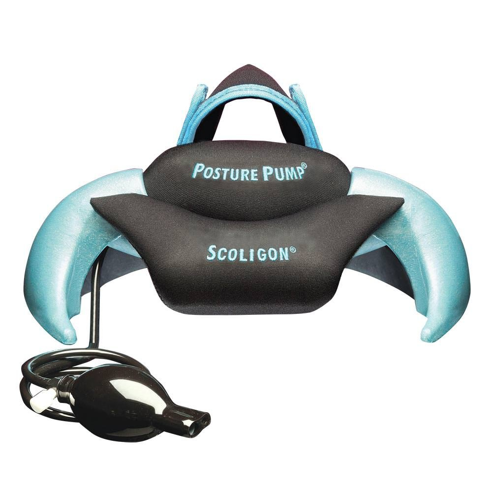 Posture Pump® Relief for Neck and Upper Back Pain - Scoligon Dual Disc Hydrator® Model 1700