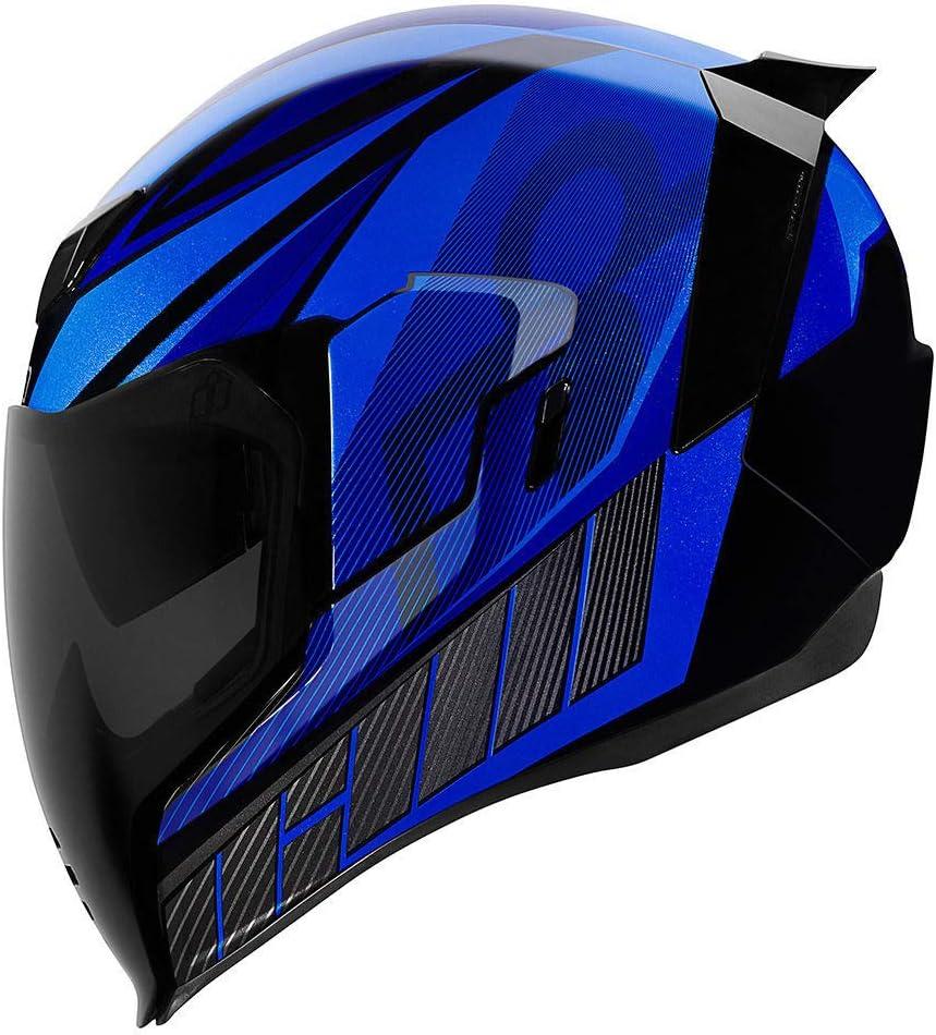 ICON QB1 2019 Motorcycle Airflite Helmet Blue