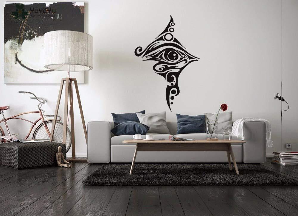 42 * 62 cm Egipto Arte Diseño Tatuaje de Ojo de Vinilo Pegatinas ...