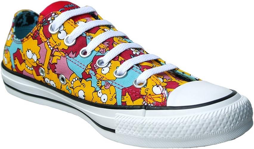 Amazon.com: Converse Chuck Taylor All Star x Lisa Simpsons Unisex ...