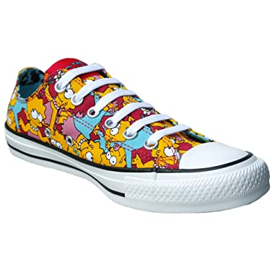680b675f391d Amazon.com  CONVERSE Chuck Taylor All Star x Lisa Simpsons Unisex Casual