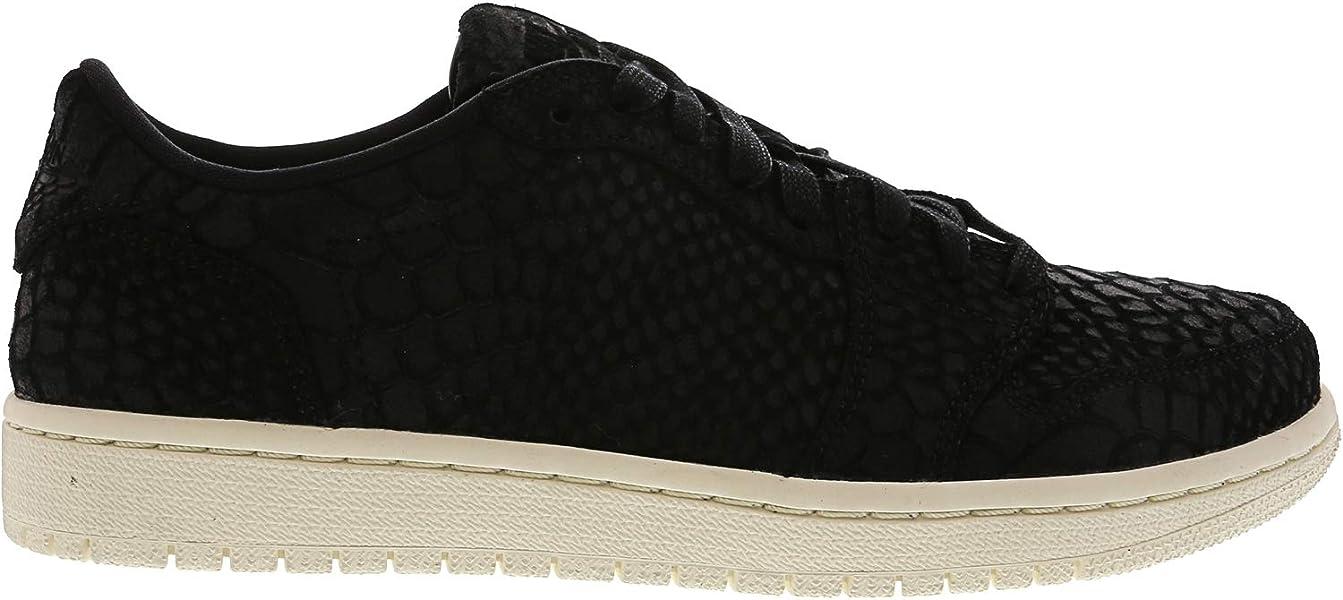 2ac165b5be85 Jordan Women s Nike Retro 1 AJ Lo Sneakers-Black Sail-5. Back. Double-tap  to zoom