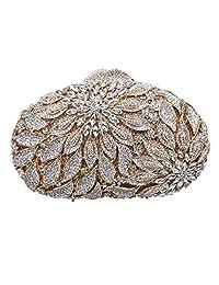Fawziya Alocasia Macrorrhizos Floral Clutch Bags For Womens Purses