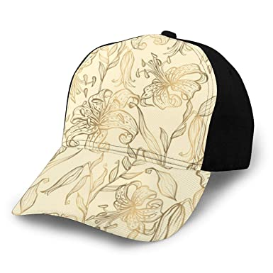 Fabulous_Woo Gorra de béisbol patrón sin Costuras, con diseño de ...