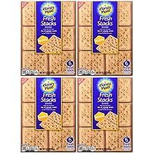 Nabisco, Honey Maid, Fresh Stacks, Honey Graham, 12.2oz Box (Pack of 4)