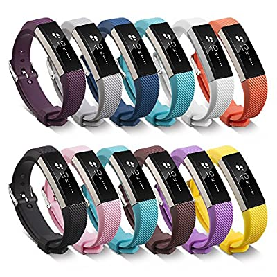 Fitbit Alta Band With Buckle, BeneStellar Silicone Bracelet Strap Replacement Band With Buckle for Fitbit Alta Smart Fitness Tracker