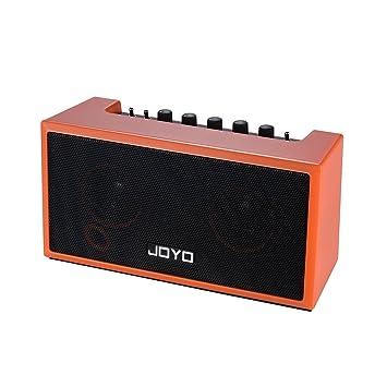 ammoon Amplificador de la Guitarra Mini BL 4.0 Altavoz del 2 * 4W ...