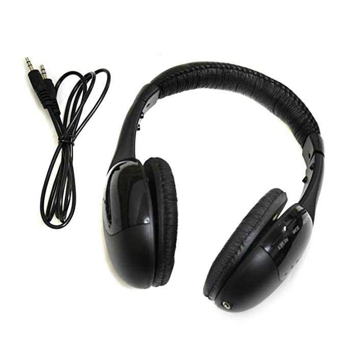 Auriculares HAPPYNUTS MF5-WP audio-Chat FM-radio Wireless-control 5-en-1 30 m Hi-Fi auriculares inalámbricos para PC MP3 MP4 TV CD: Amazon.es: Electrónica