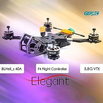 Cigooxm GEPRC Elegant PNP - Drone de competición (230 mm, 2-5S ...