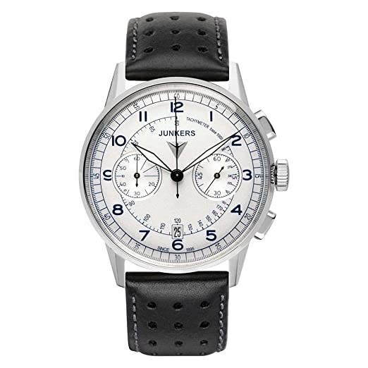 5ccd78df516 Mens Junkers G38 Chronograph Watch 6970-3: Amazon.co.uk: Watches