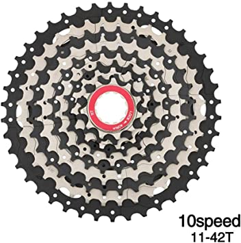 WZ 10 Casete De Velocidad 11-42 T, Piñón De Bicicleta Tarjeta De ...