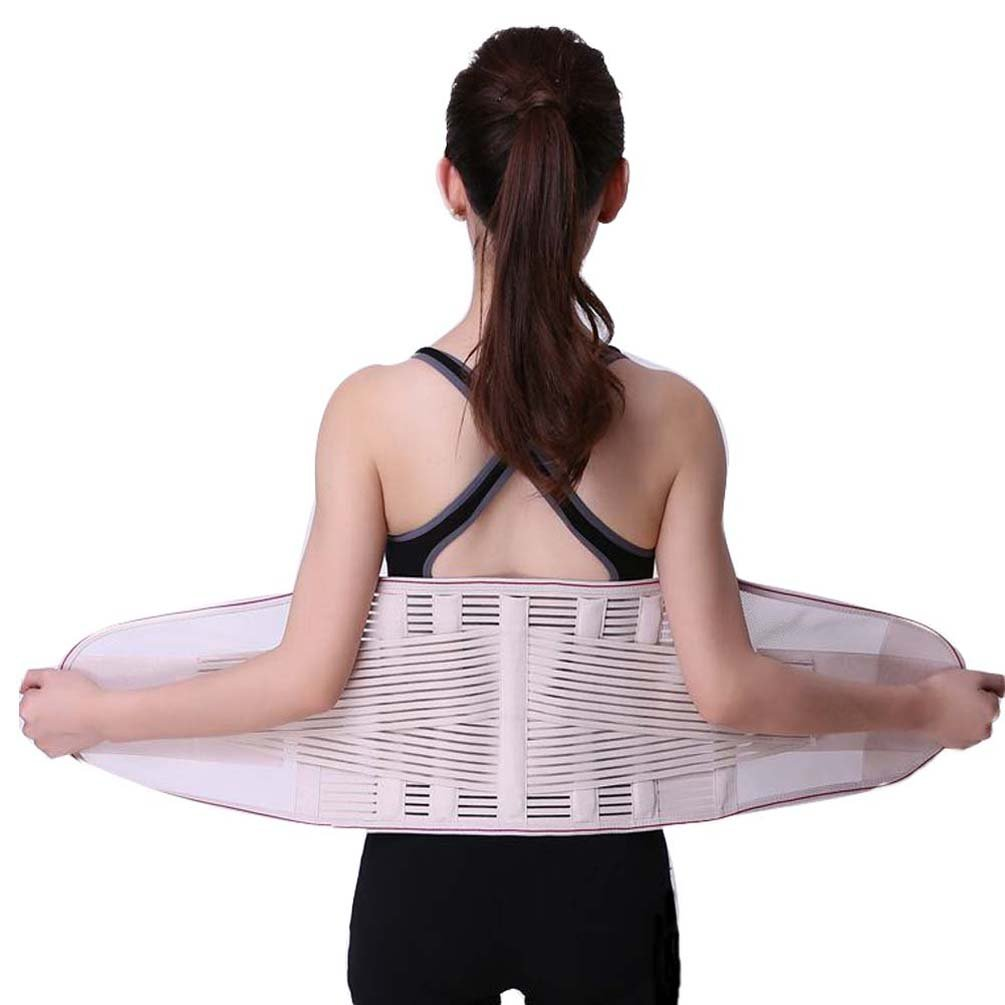 Iuhan Back Support Belt Lower Back Support Adjusts Back Pain Relieves Lumbar Support Keeps Your Spine Straight and Safe