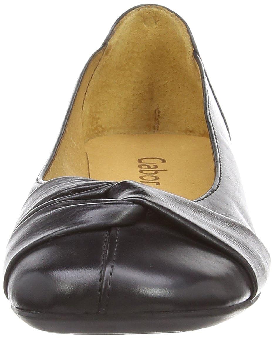Gabor Schuhes 04.111_Gabor 04.111_Gabor 04.111_Gabor Damen Geschlossene Ballerinas Schwarz (27 Schwarz) 4ff8a5