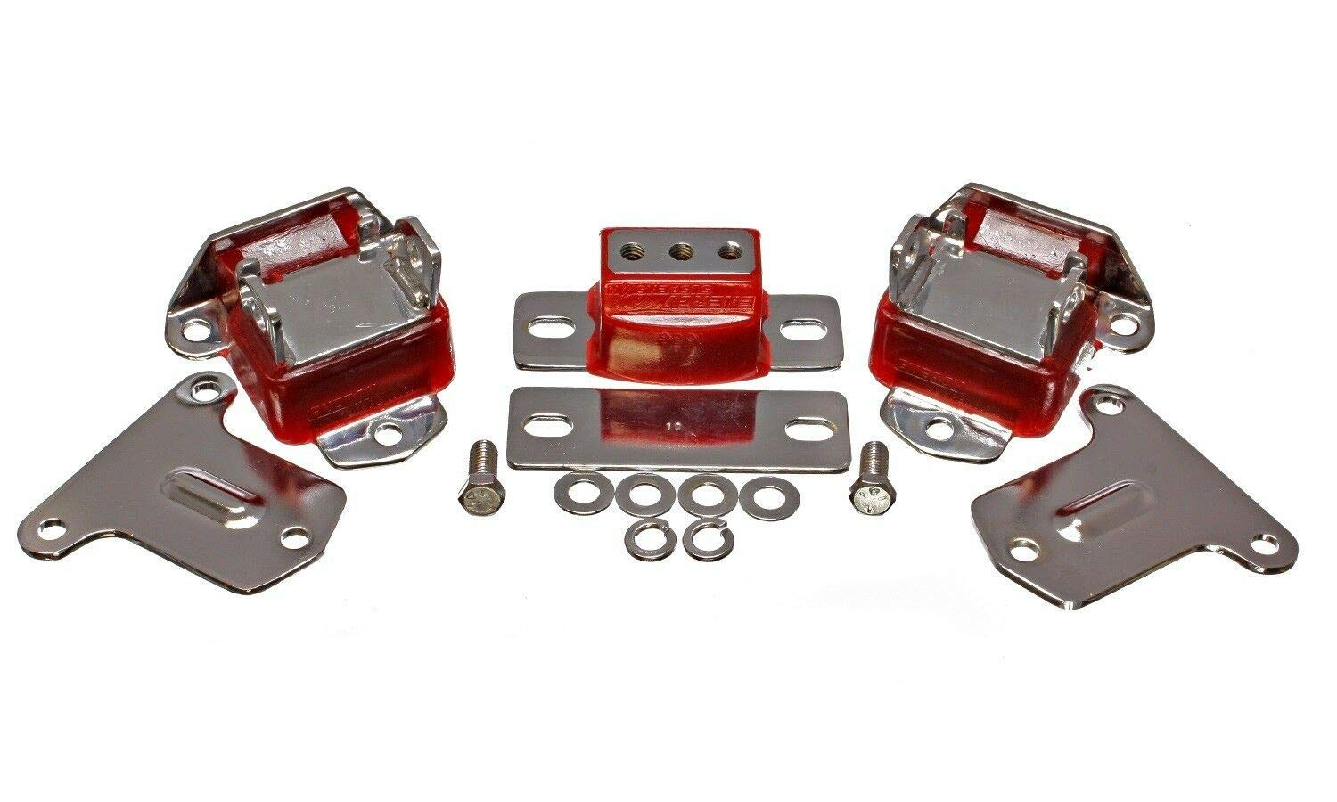 Energy Suspension 3.1134R CHROME ENG & TRANS MNT