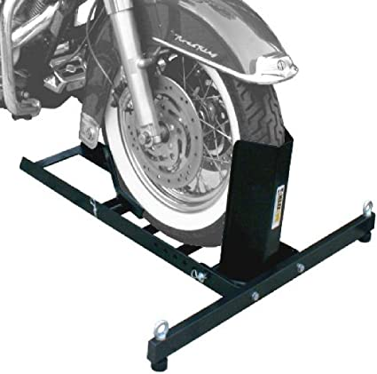 Maxxhaul 70271 Heavy Duty Motorcycle Wheel Chock Stands Amazon Canada