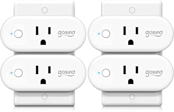 4-Pack Gosund WiFi Smart Outlet Plug