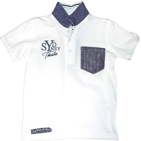 Sarabanda - Polo - Camisa Polo - Liso - Cuello de Polo - Manga ...